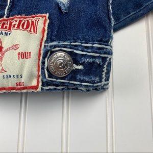 True Religion Jackets & Coats - 🌵 True Religion Distressed Jimmy Super T Jacket S